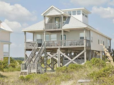 Photo for Panoramic ocean and sound views, large family home