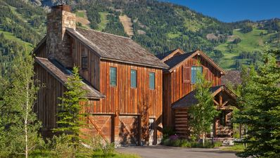 Photo for Luxury cabin in Teton Village, sweeping mountain views