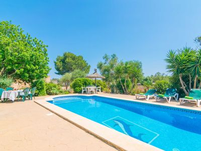 Photo for FINCA NA ROQUETA - Villa with private pool in Es Llombards.
