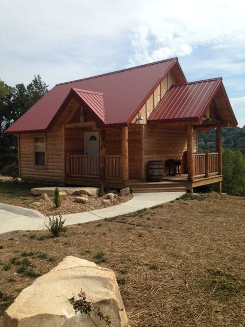 The Cabins At Branson Antlers Lodge 1 Bedr Vrbo