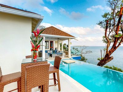 Photo for NEW LISTING! Oceanfront villa w/breathtaking ocean views & gorgeous private pool