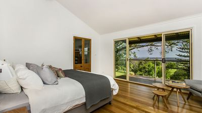 Photo for Ocean and hinterland views - Private studio room 4 with stunning deck