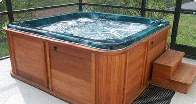 Relax under the stars in our new hot tub!