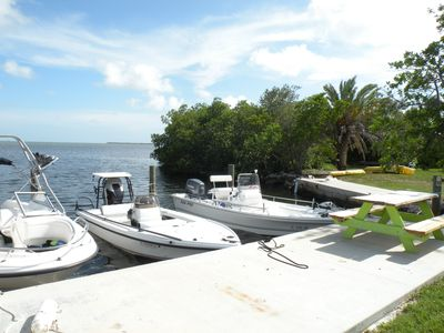 Photo for Private Oceanfront Cottage with dockage, pool just minutes to Key West!
