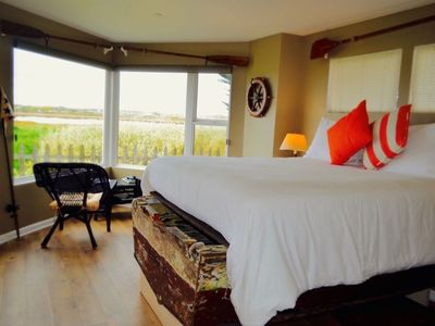 Photo for BoatHouse room with a double shower overlooking the water