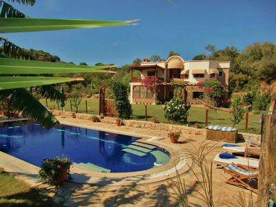 Photo for Tranquil Villa set in 2 acres with large pool, volleyball, basketball, badminton