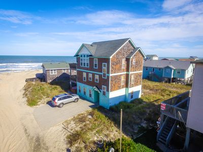 Photo for K1054 The BU. Ocean Views, 60 Ft to the Beach, Pool Table,  Hot Tub, Pets OK!