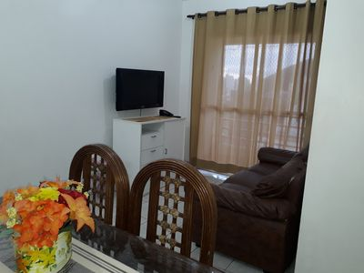 Photo for Apt on the beach of Enseada - Guarujá, with 2 bedrooms.
