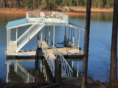 Photo for Secluded Retreat On Lake Lanier!