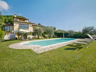 Photo for Balzo is a delightful villa perched on the hillside offering beautiful views of the surrounding countryside in Camaiore.