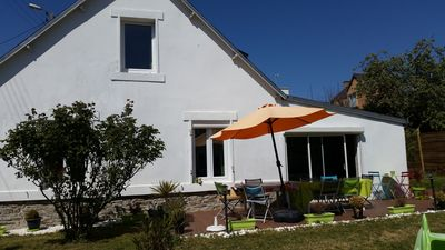 Photo for House 10min walk from the city center and 2 minutes from the Cornouaille Beach