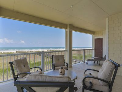 Photo for Dog-friendly, waterfront condo with Great Beach views, shared pool, & hot tub!