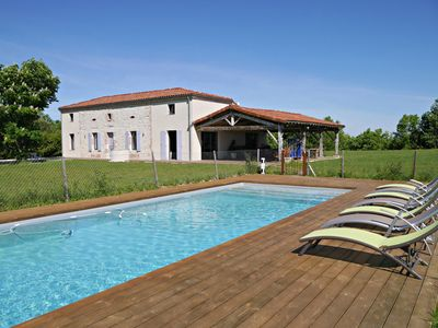 Photo for GITE PECH DE DURAND in VILLENEUVE S / LOT, 15 people, disabled access, private swimming pool