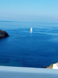 Photo for Our house  offers you  an aegean blue horizon