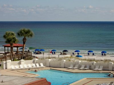 Photo for Great Two Bedroom - Check Me Out! Beach, Pool, Sauna, Tennis!