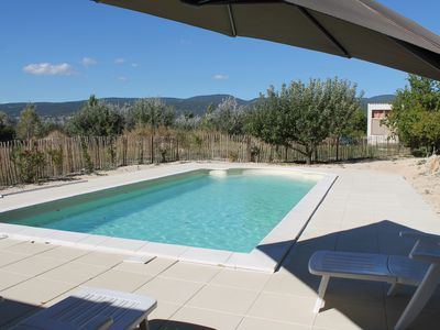 Photo for House in Luberon with private pool, plenty of comfort and nature