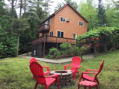 Photo for Ski gore, West mtn, private and peaceful ADK house! Enjoy our home this winter.