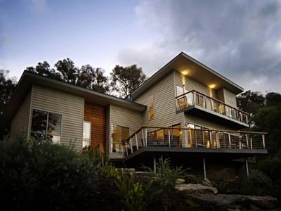 Photo for Iremia holiday house - nestled on the bank of the river.