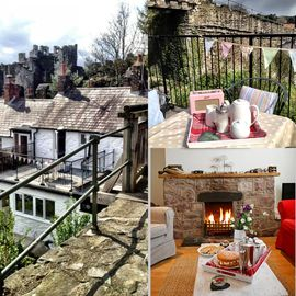 LOCATED AGAINST MEDIEVAL WALLS  - UNIQUE  ROOF TERRACE & CONWY CASTLE VIEWS
