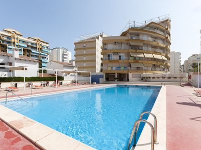 Photo for CANAPE - Apartment with shared pool in Playa de Gandia.