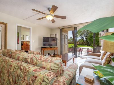 Photo for NEWLY UPDATED-KAMAOLE SANDS-GROUND FLOOR-2 BEDROOM-AC THROUGHOUT