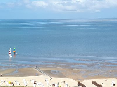 Photo for Sensational view from the 11th Floor! Free view of the North Sea :-) South-West