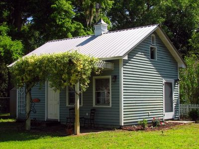 Bealy-Bison Guesthouse, three blocks from the Cumberland Island Ferry Landing.