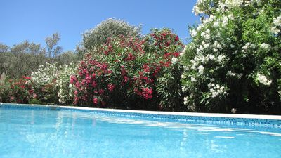 Photo for Beautiful house 3/4 bedroom pool Porto Vecchio Palombaggia beach Carataggio