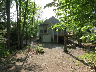 Photo for Beautiful Vacation Home in Point Sebago Golf and Beach Resort INCLUDES GOLF CART