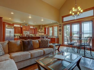 Photo for Luxury, Peaceful, Hot Tub, Pool Table, Fire Pit, Walking distance to dining