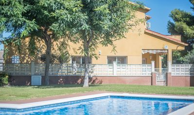 Photo for R76 Townhouse with pool 2 km from Calafell beach