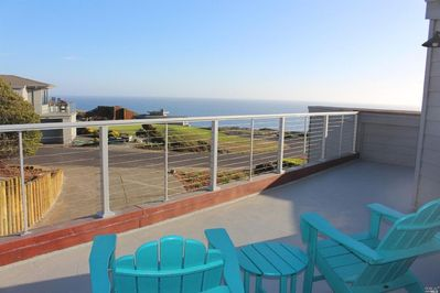 View from upstairs deck