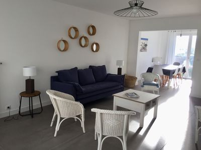Photo for Renovated villa 100m from the beach