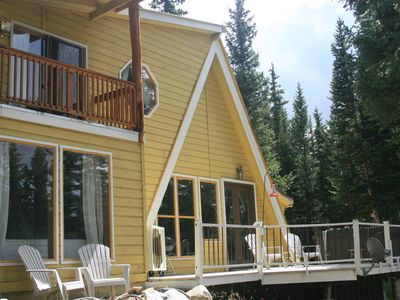 Secluded Spacious Sunny Home 12 Miles To Breckenridge 303-710-7546