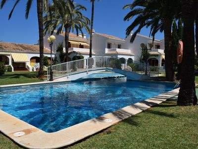 Photo for Rustic and classic holiday house in Denia, on the Costa Blanca, Spain  with communal pool for 7 persons