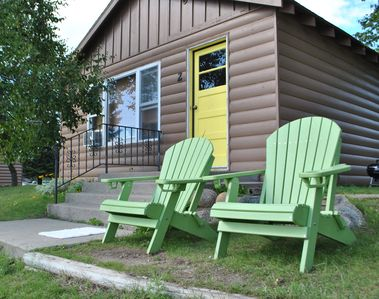 2 BR cabin at Walters Resort-a lakefront getaway! Pets accepted Spring/Fall (#2)