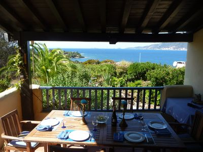 Photo for Charming villa close to the beach with superb sea and mountain views.