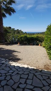 Photo for GIGARO - the GREEN OAKS - MAS 2 bedrooms, terrace, sea view