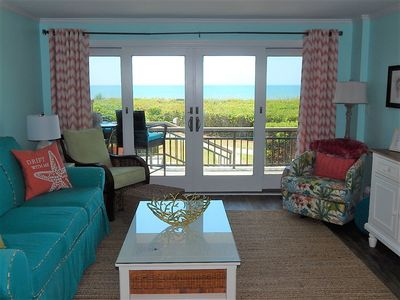 Photo for Beautiful First Floor Oceanfront Condo Renovated 2019