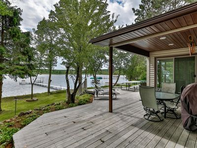 Photo for Relaxing Cabin on Bone Lake!