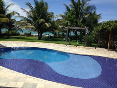 Photo for Luxury house with pool on the seafront of Porto de Galinhas