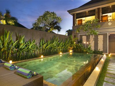 Photo for Guesthouse for couple getaway near beach, restaurant, shops Seminyak