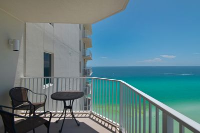 Balcony - Enjoy morning coffee or that fine glass of wine while you watch the sunrise or sunset.