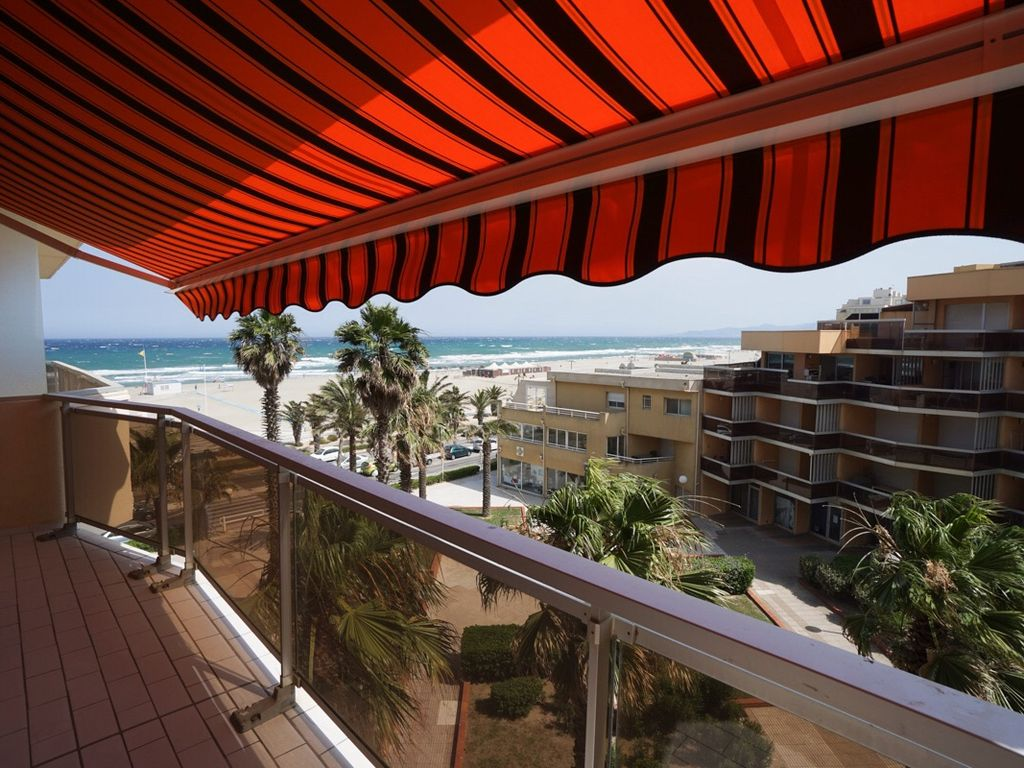 T2 STANDING 4* front de mer, 44m2 bord de plage (20m)4 pers, 1 chamb, WIFI FREE