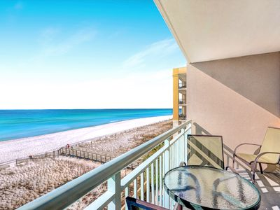 Photo for Pelican Isle 415-1BR+Bunks w/Beach SVC☀OPEN Oct 14 to 16 $445!☀ Gulf Front Pool!