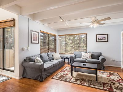 Photo for Tahoe Getaway, peaceful family retreat! Breathtaking views,near downtown & Beach