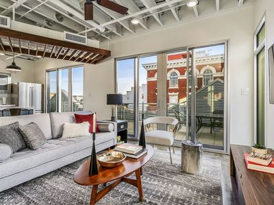 Photo for Penthouse 2BR/2BA in Warehouse Dist. by Domio