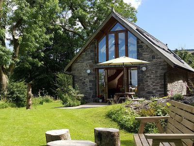 Photo for Gorgeous Detached barn conversion with superb views, wifi, garden, dog friendly