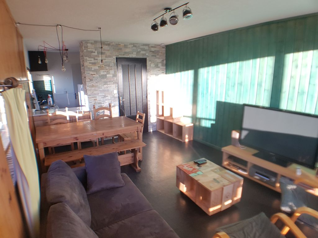 Grand Appartement Orcieres vrai pied pistes 8 pers. 65 m²