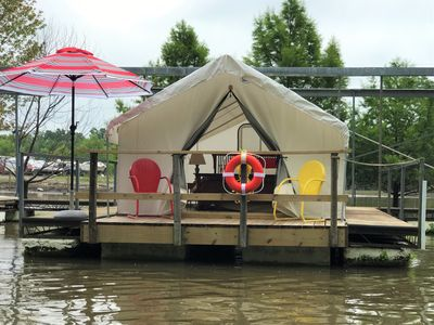Photo for A Floating Safari Camp-Glamping St. Louis - Harbor Breeze